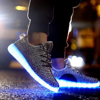 Unique LED Light Up Sneaker Sports Shoes