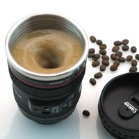 Electric mix coffee cup Creative Mirror Cup Stainless Steel Mug [6284326406]
