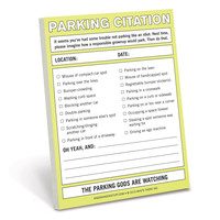 KNOCK KNOCK PARKING CITATION NIFTY NOTE