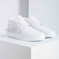 Clear Weather One-O-One Leather Sneaker- White