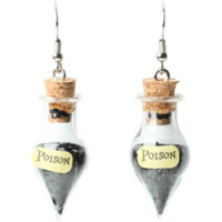 LOVEsick Poison Bottle Earrings