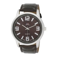 U.S. Polo Assn. Classic Men's US5166 Watch with Brown Leather Band