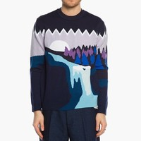Kenzo Landscape Sweater F465PU2303DC.77 at C-Store Caliroots - The Californian Twist of Lifestyle and Culture