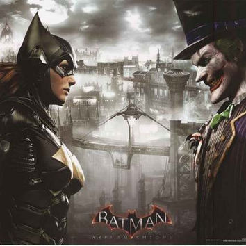 Batman: Arkham Knight Faceoff Video Game Poster 22x34