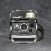 Working, Polaroid Silver Express Instant Camera