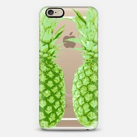 Green Pineapple Daze iPhone 6 case by Sarah Marie | Casetify