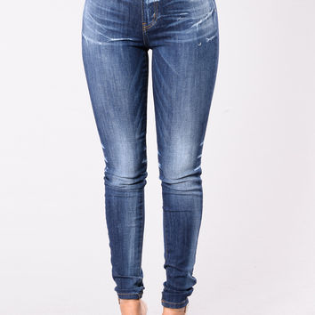 Walk & Talk Jeans - Dark