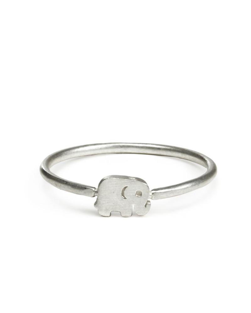 Image of Dogeared - Good Luck Elephant Ring