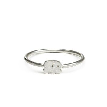 Dogeared - Good Luck Elephant Ring
