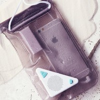Free People Waterproof Speaker Phone Bag