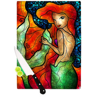 "Mandie Manzano ""Ariel"" Mermaid Cutting Board"