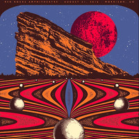 'Tame Impala Red Rocks artwork' Poster by zeroclock