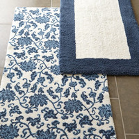 NM EXCLUSIVE Tuscany Border & Chi Chi Floral Bath Rugs