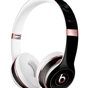 Slate Black Marble Surface Full-Body Skin Kit for the Beats by Dre Solo 3 Wireless Headphones