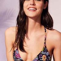 Out From Under Printed Triangle Racerback Bikini Top - Urban Outfitters
