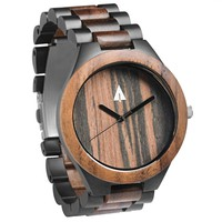 Black Stainless Walnut Chase