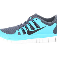 Nike Free 5.0+ Dark Armory Blue/Gamma Blue/Summit White/Black - Zappos.com Free Shipping BOTH Ways
