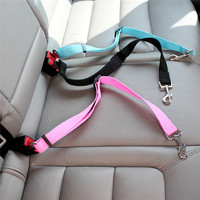 #1 Dog Seatbelt & Cat Seatbelt & Pet Seatbelt Harness Restraint Lead Leash For Car Travel