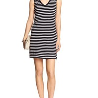 Banana Republic Womens Factory Sleeveless Stripe Dress