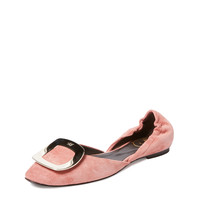 Chips Suede Ballet Flat