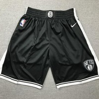 Brooklyn Nets Throwback Shorts Black