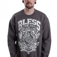 Blessthefall - Rose Anchor Charcoal - Sweater