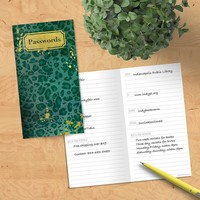 Emerald Password Book