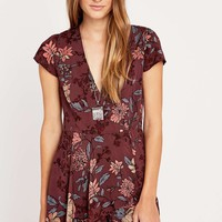 Kimchi Blue Anita Printed Romper - Urban Outfitters