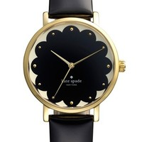 Women's kate spade new york 'metro' patterned dial watch, 34mm