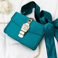 Lola Bowknot Chain Shoulder Bags