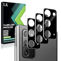 LK [3 Pack] Camera Lens Screen Protector for Samsung Galaxy Note 20, Tempered Glass, Ultra Thin High Definition,Anti-Scratch Case Friendly