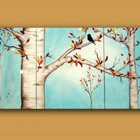 Custom for cferrell711HUGE Original Abstract by hilariagalleries