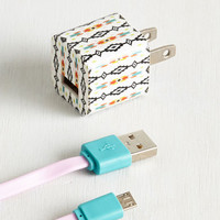 Boho Energized Possession Charger by ModCloth