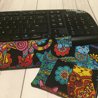 Cat kitty Keyboard rest and / or WRIST REST for MousePads