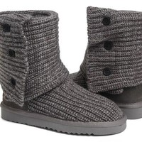 UGG Women Classic Cardy Boots 5819 Grey