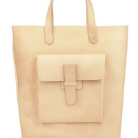 rsalh531 - Sturdy Leather Tote