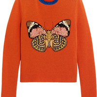 Gucci for NET-A-PORTER - Embellished wool sweater