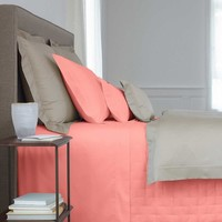 Triomphe Peche Bedding by Yves Delorme
