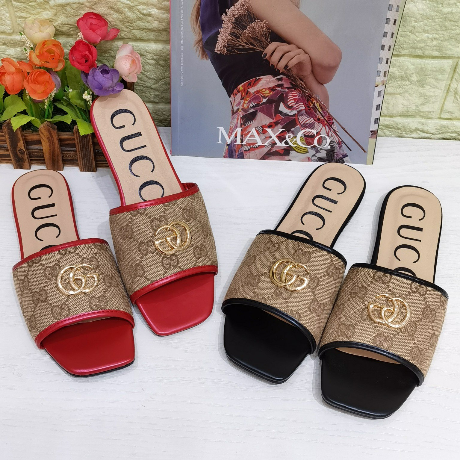 Image of GG Women's Slippers Shoes