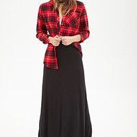 FOREVER 21 Stretch-Knit Maxi Skirt