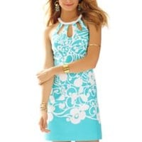 Pearl Cut-Out Halter Shift Dress - Lilly Pulitzer