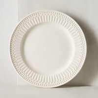 Ceres Dinner Plate by Anthropologie in White Size: Dinner Plate Dinnerware