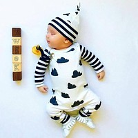 Fashion Baby Rompers Long Sleeve Printing Baby Boy Clothing Children Jumpsuits Infant Clothing Newborn Baby Girl Clothes