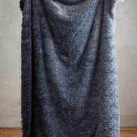Ombre Sky Faux-Fur Throw