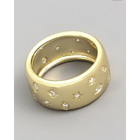 Bulky Star Ring - Sterling Silver