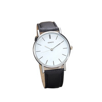 Simple Causal Womens Retro Design Geneva Leather Band Analog Hour Alloy Quartz Wrist Watch Clock For Women Ladies Montre Femme