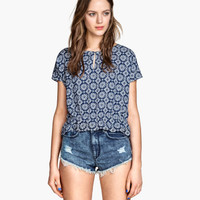 H&M Patterned Blouse $12.95