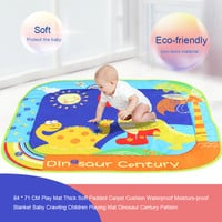 Popular Baby Play Mat Soft Padded Carpet Cushion Baby Toys Waterproof Moisture-proof Blanket Baby Crawling Playing Mat 84 * 71CM
