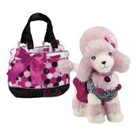 Barbie Pets Sequin (Poodle) with Polka Dot Bag and Dress