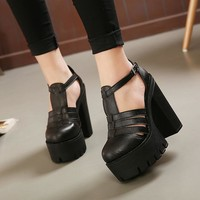 High Platform Fashion Sandals